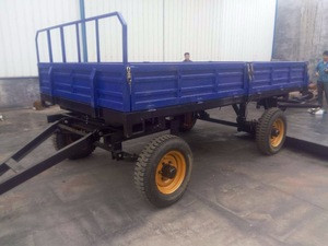 Feed Pellet Production Farm Use Tipping Trailer