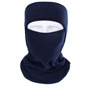 Fleece Neck Warmer Bandanas for Motorcycle Customized Design Solid Color Neckwear Scarf