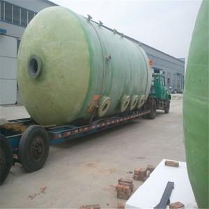 FRP Chemical Storage Vessel GRP water storage tank Fiberglass Industrial Storage Tank