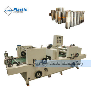 High glossy two color printing ceiling panel making machine