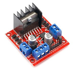 High Power L298N H bridge Driver Board module L298 stepper motor for smart car robot breadboard