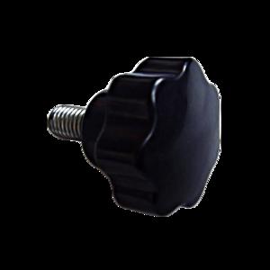 High quality customized star grip machine knobs