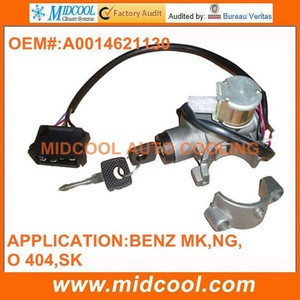 HIGH QUALITY IGNITION SWITCH ASSEMBLY for mercedes benz electric system heavy duty truck parts A0014621130