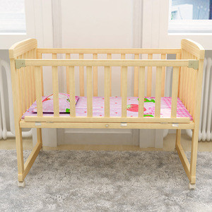 Hot selling Kids Wooden Baby Cribs Baby Cot