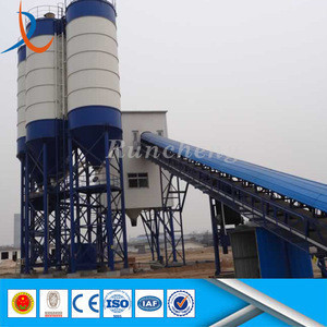 HZS series low cost aggregate continuous type mixed concrete batching plant