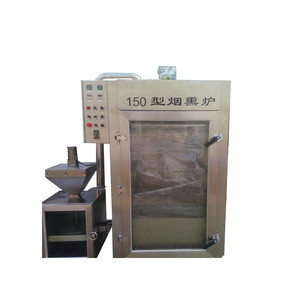 Industrial equipment stainless steel mechanical smokehouse for Meat Fish Sausage