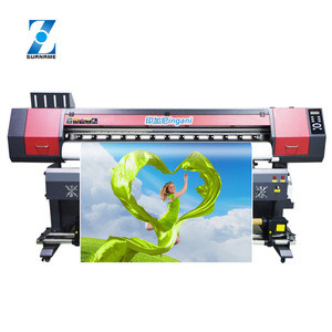Large format 1.8m Xp600 printhead canvas vinyl banner poster eco solvent printer