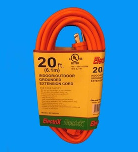 Outdoor Extension Cord 20Ft