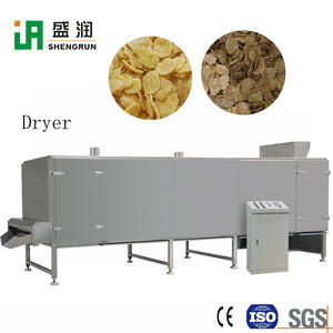 Puffed Crispy Tortilla Rice Corn Flakes Making Machinery Equipment