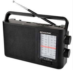 Rechargeable Battery Pack radio multi band portable BT radio usb tf/sd mp3 music player