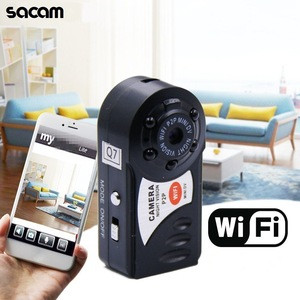 SACAM HD Q7 WiFi Camera Mini Wireless IP Recorder 720P DV DVR Smallest Micro Cam Night Vision Video Camcorder