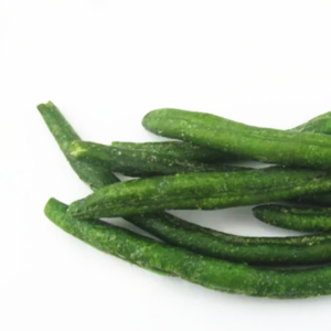 Snack Dried Green Bean VF Green Bean Crisps Vacuum Low Temperature Fried Vegetable with Good taste