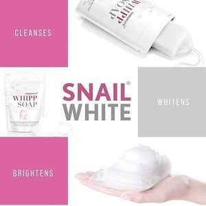 SNAIL WHITE WHIPP SOAP by NAMU LIFE THAILAND Best Products