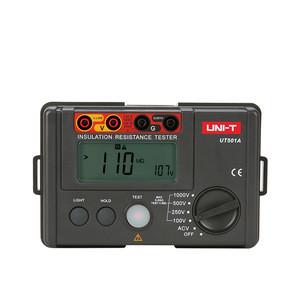 UNI-T UT501A 1000V Insulation Earth Ground Resistance Meter Megger Auto Range Ohm Tester Megohmmeter Voltmeter