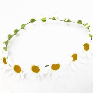 Wildflower Flower Crown Daisy Flower Crown Head Wreath Girls Hair Accessories