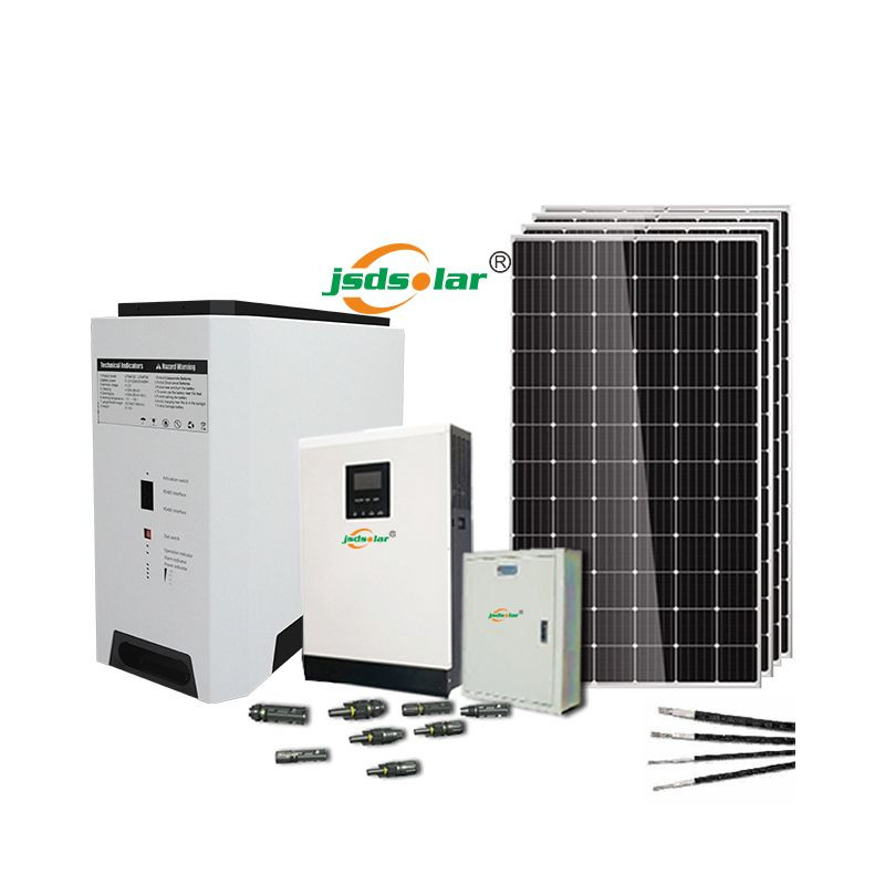 Jinsdon 5kw solar enrgy kit for household electrical equipment load power 1kw 2kw 3kw 4kw 5kw customized solar power pv systems