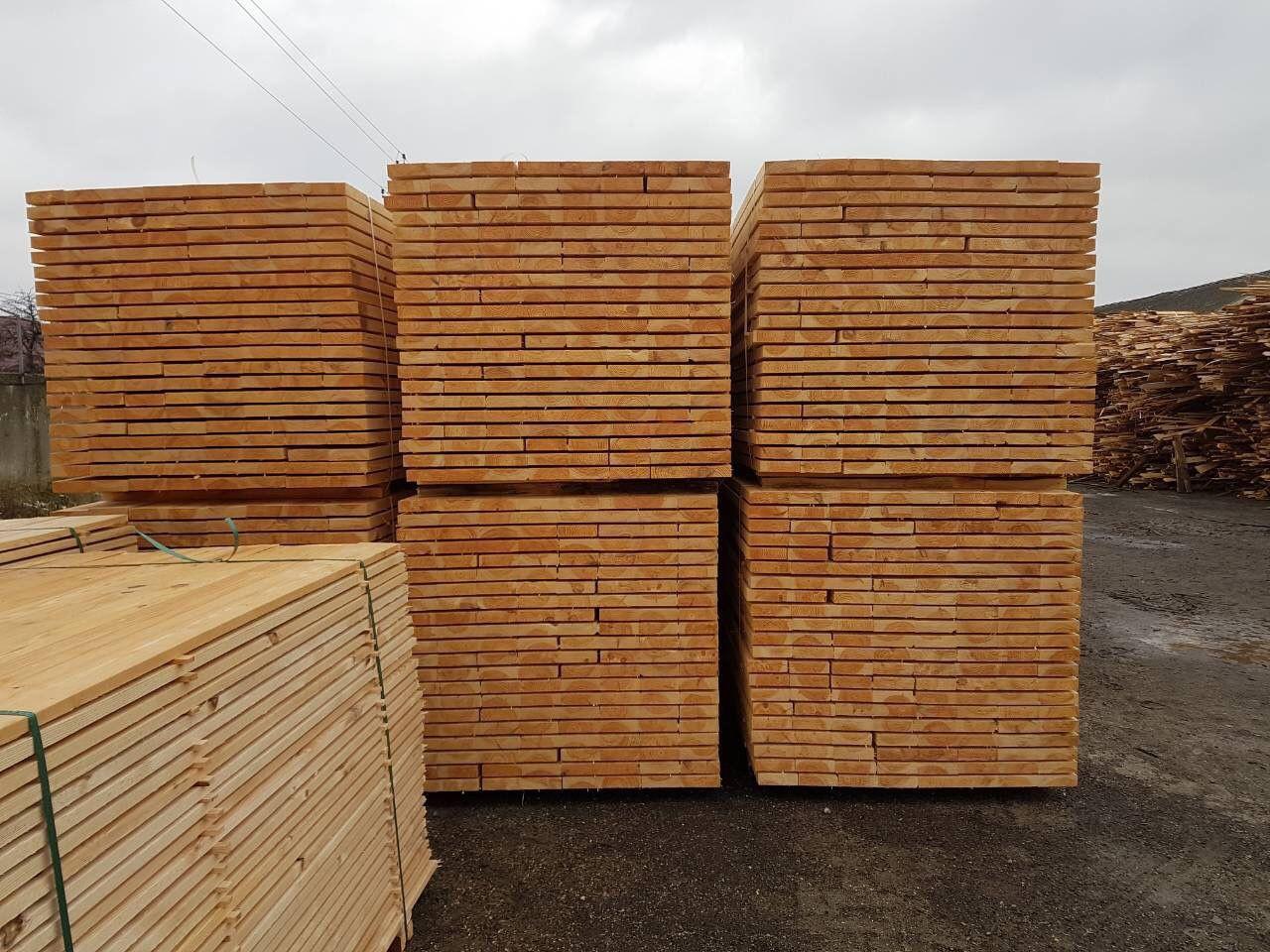 Pine sawn timber - lumber of any sizes