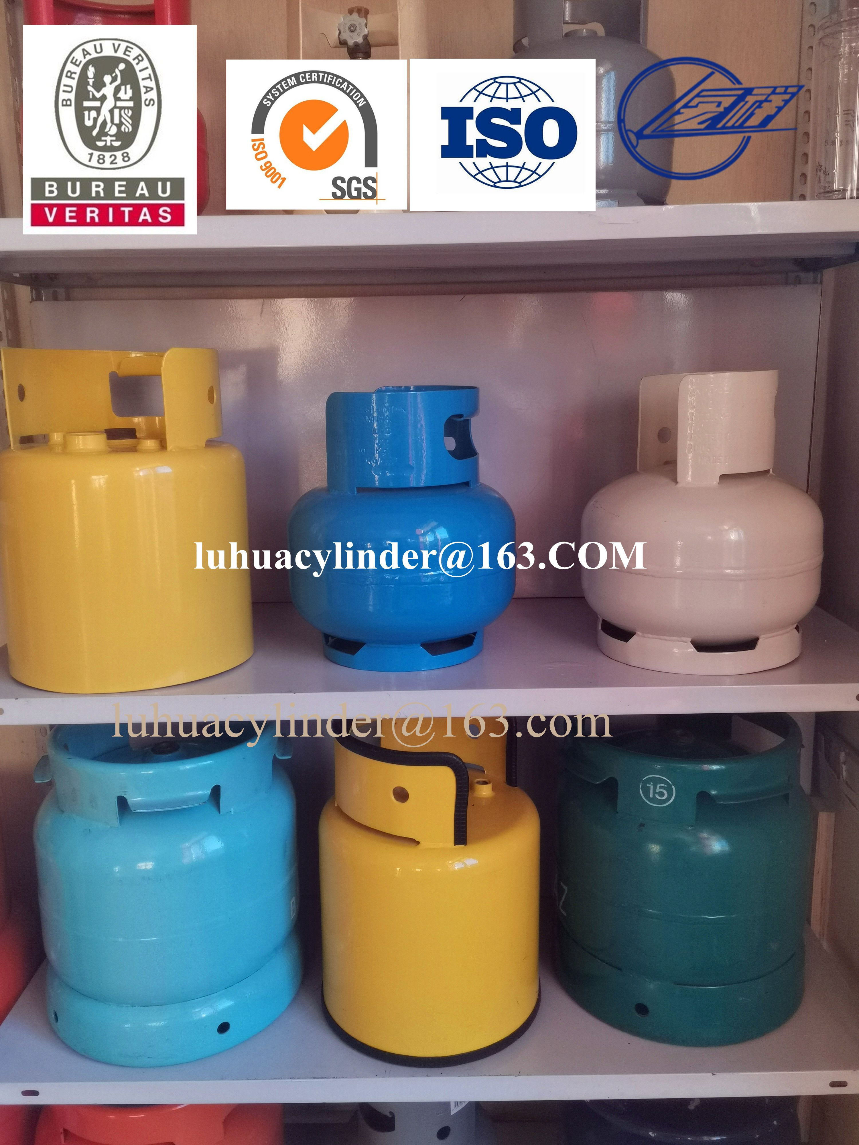Comping LPG gas cylinder