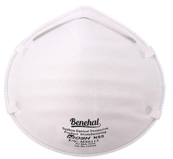 Dustproof Anti Smog Cup NIOSH N95 Dust Mask Disposable