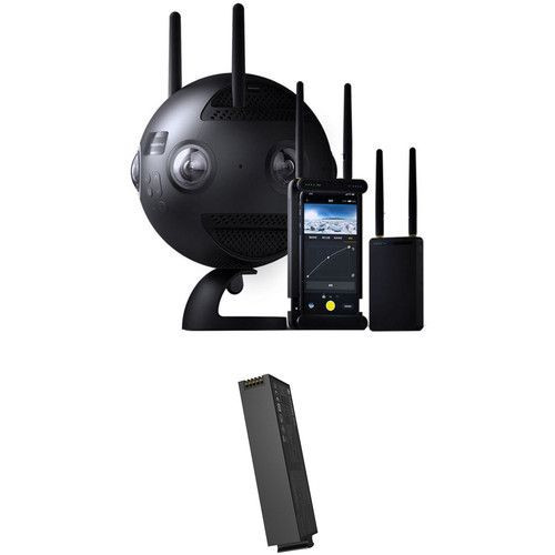 Insta360 Pro II Spherical VR 360 8K Camera & Extra Battery Kit