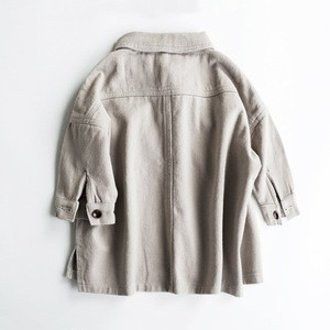 2019 Boys Jacket No Hood Button Kids Autumn