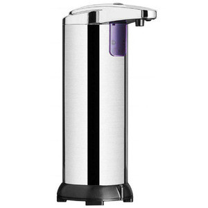 2020 stainless steel bathroom household kitchen hands free touchless electric sensor automatic liquid soap dispensers