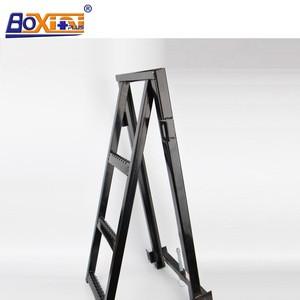 2/3- step metal truck folding ladder