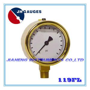 "2.5""(63mm) Forge Brass Gauge, Mod.119F"