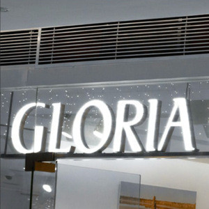 3 years warranty acrylic led channel letter sign outdoor advertising board
