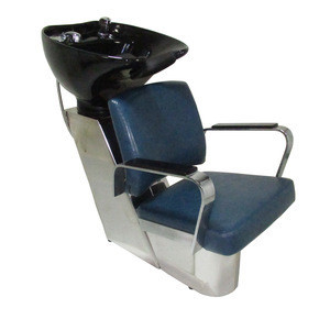 3 Years Warranty Stainless Steel Frame Classic Super Royal Style Salon Set Hair Washing Shampoo Chair