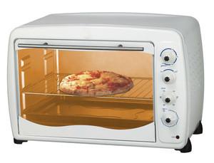 65L electric oven white color bigj toaster oven
