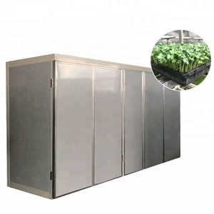 Animal feed wheat grass fodder sprouter/ pasture forage sprout making machine with vegetable seed growing tray