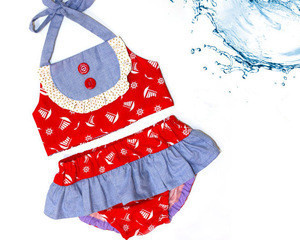 Baby Girls Summer Swimingwear Kids Sexy Bikini Children Swimsuit Beachwear