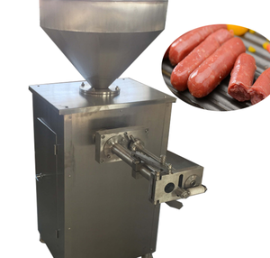 Best selling High output vacuum sausage stuffer with simple operation, easy maintenance