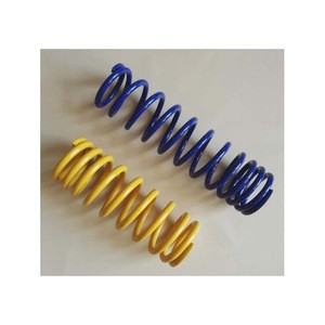 Car shock absorber yellow coil spring