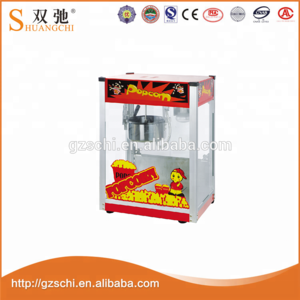 Commercial electric popcorn machine corn popper with rooftop