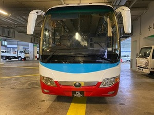 Competitive Hot Prices Used YUTONG BUS 2 PC1412H White Color With 31 - 50 Seats & 6 - 8L Engine Capacity Year 2011