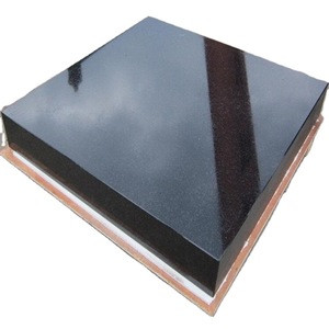 Complete in specifications High quality black Granite panel for benchmark measurement tool
