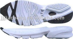 crepe rubber sole mens shoes with eva sole new running sports shoes sole