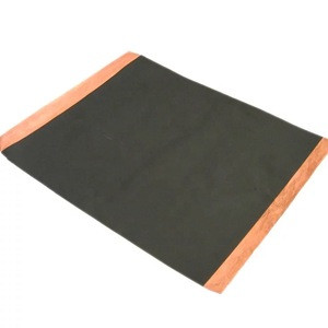Custom carbon coated conductive high purity thin copper foil sheet