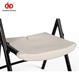 Free Sample Wholesale Commercial Stackable Wedding Party Event White Folding Plastic Plastic Chair