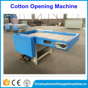 High efficiency waste cotton textile fiber opening machine