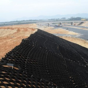 High quality HDPE Geocells price for road construction