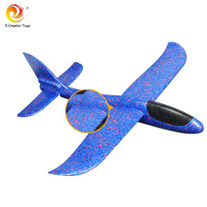Hot sale foam Hand-throw aircraft for children Outdoor Hand Launch Throwing Aircrafts Plane Model