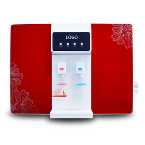 Household reverse osmosis water purifier commercial tap water cooling and heating integrated household water purifier factory