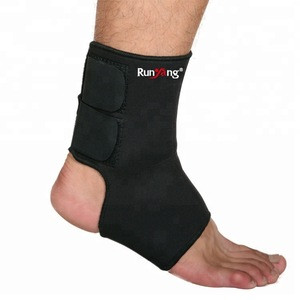 Item 3643 Runyang brand ankle support customized protective adjustable ankle sleeve