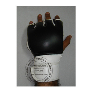 Leather MMA Gloves grappling OEM