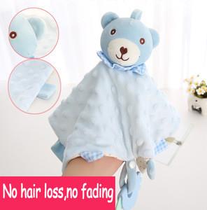 new baby soft new trending plush rabbit animal finger elephant plush sleeping with rattles set baby toys