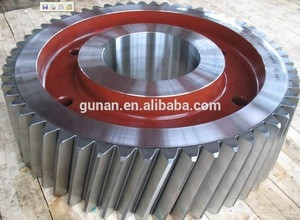 OEM high precision and cnc machining spline shafts and ring gears