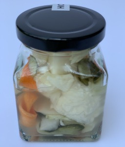 Organic pickle side dishes premium product from Thailand fermented food 150ml